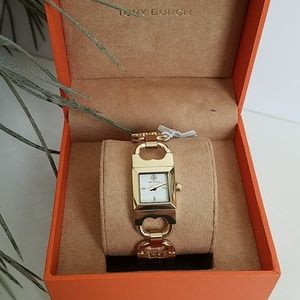 Accessories - Tory Burch Double-T Link Watch